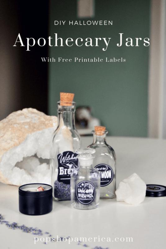 diy halloween apothecary jars pop shop america