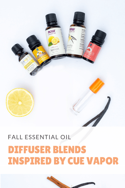 fall essential oil diffuser blends inspired by cue vapor system