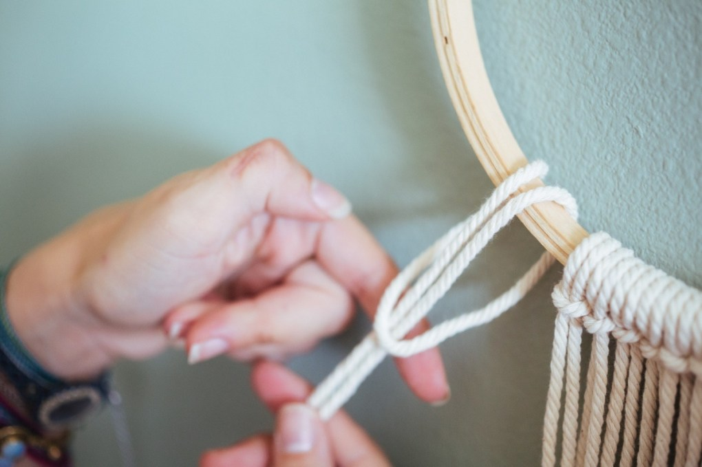 how to tighten the macrame loop pop shop america