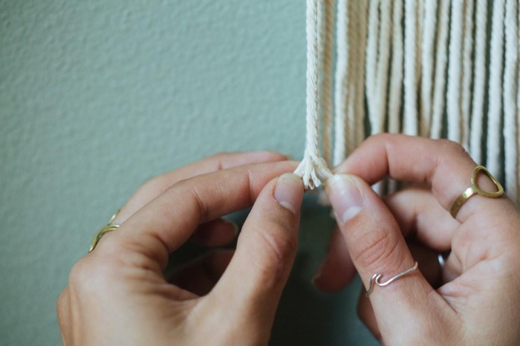 unravel the rope diy macrame tutorial pop shop america