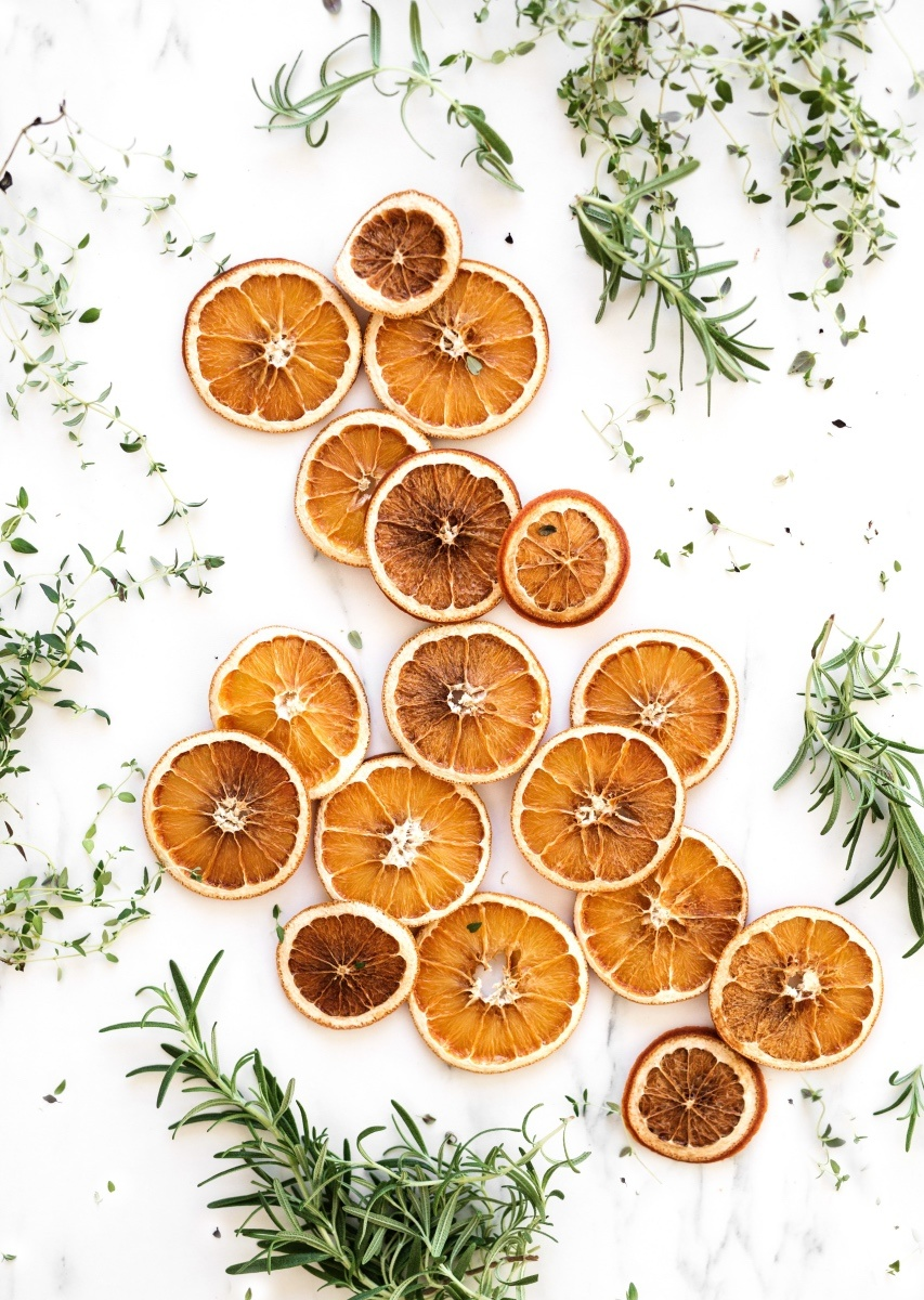 finished dried orange slices diy pop shop america