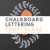 chalkboard lettering craft class houston pop shop america
