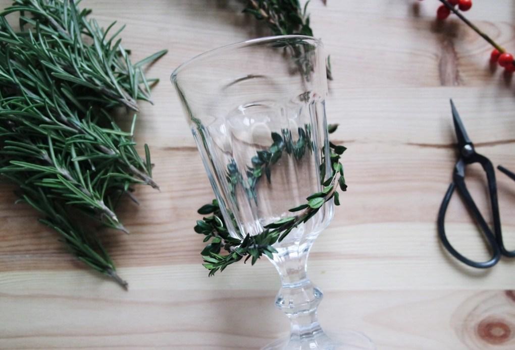 herb wine glass markers diy pop shop america