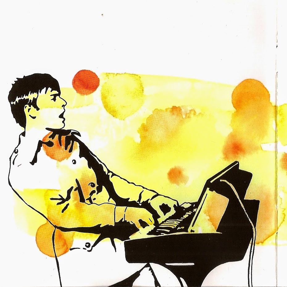 air moon safari watercolor album art pop shop america