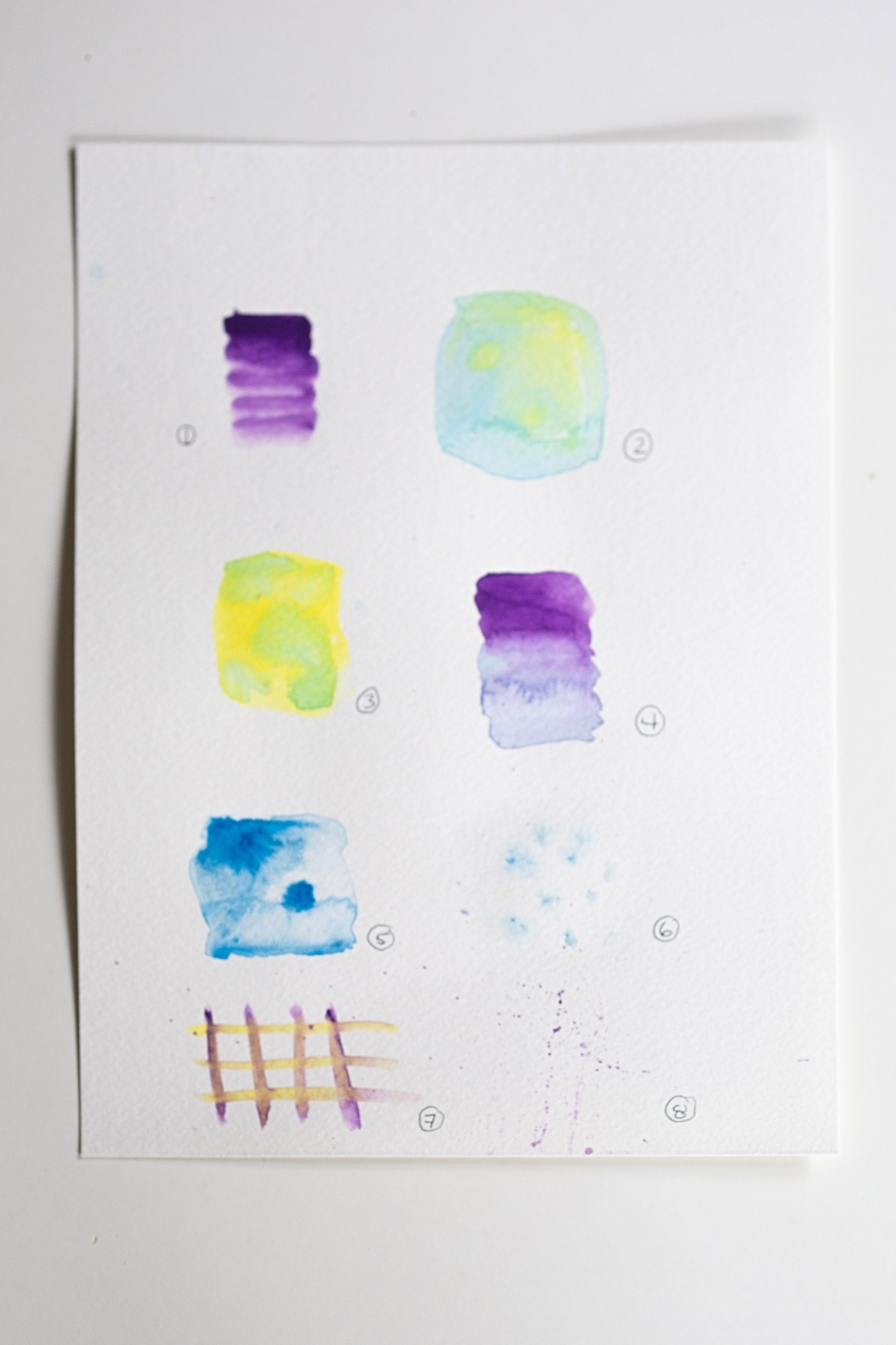 all the basic watercolor blending techniques for beginners - a how to guide