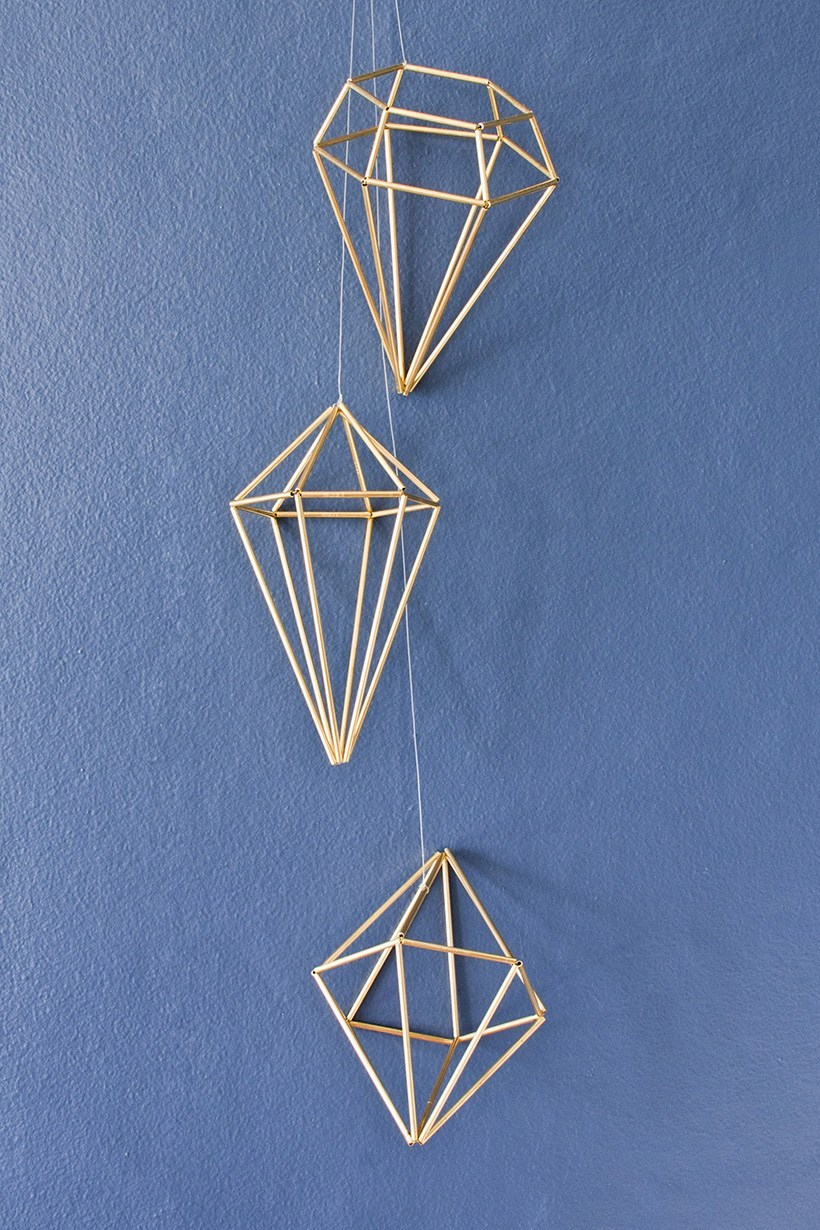 diyinpdx blog himmeli hangers with coffee straws
