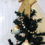 Diy Gold Leaf Christmas Ornaments