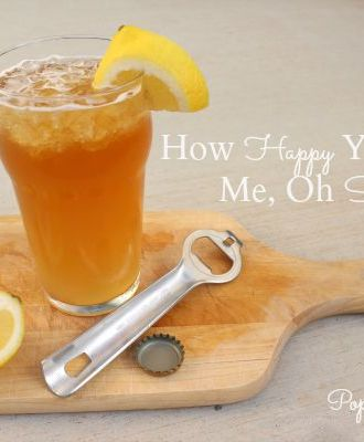 Drink: How Happy You Make Me, Oh Shandy