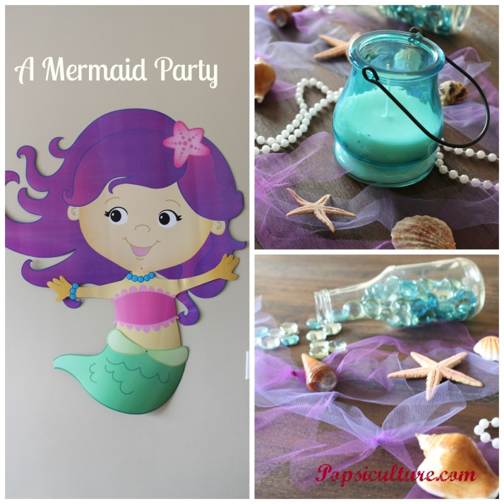 Mermaid Party Collage
