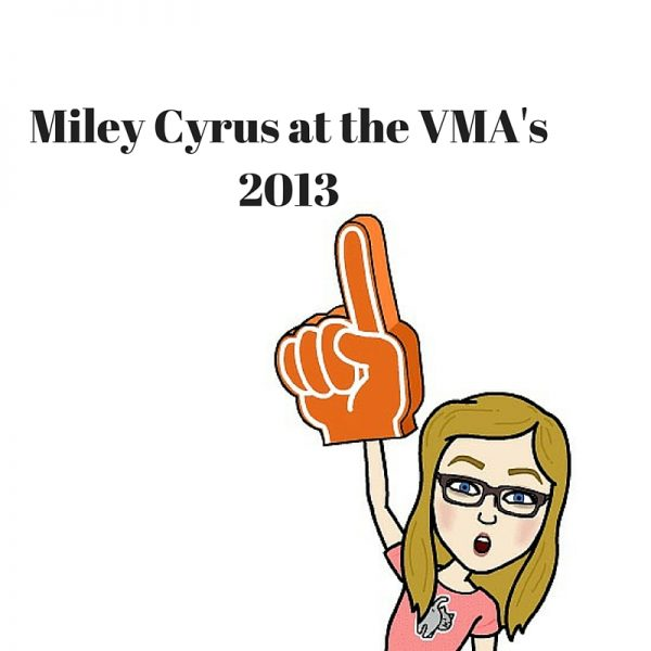 Miley Cyrus at the VMA's 2013