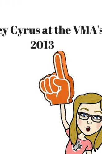 Miley Cyrus at the VMA's 2013