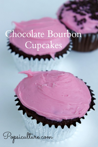 Chocolate Bourbon Cupcakes