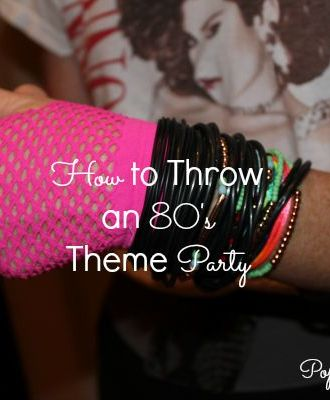How to Throw an 80's Theme Party
