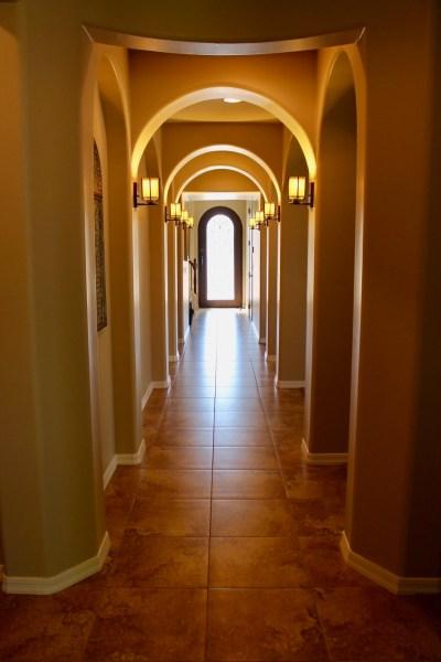 Arizona Spanish Turret Hallway