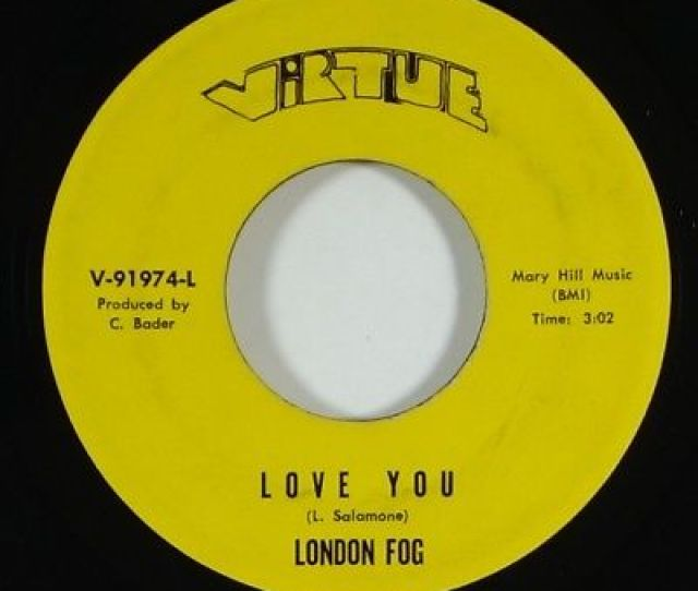 London Fog Love You Obscure Crossover Soul Funk