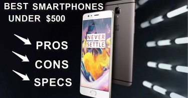 top 10 best smartphones under 500$