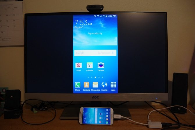 how to connect phone to TV wirelessly