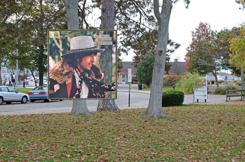 An dieser Stelle wurde vor rund 40 Jahren das Cover zu Dylans Desire aufgenommen. (Bild via popspots)