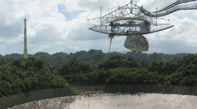 PTJ 346: Pour One Out For Arecibo