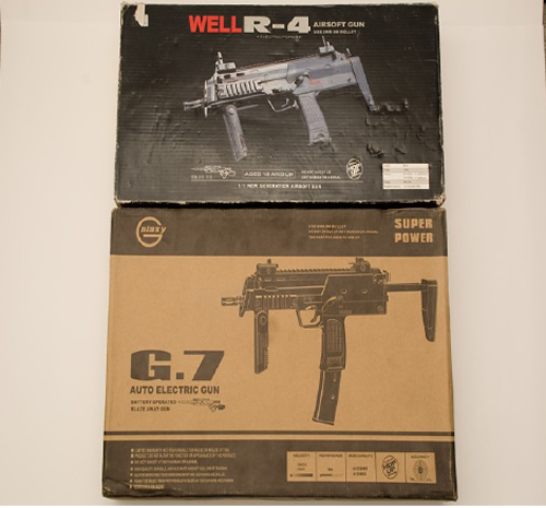 Mp7 Faceoff Galaxy G 7 Vs Well R 4 Popular Airsoft