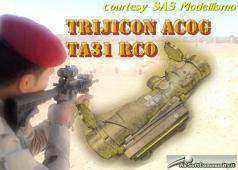 Trijicon ACOG TA 31 RCO ASC