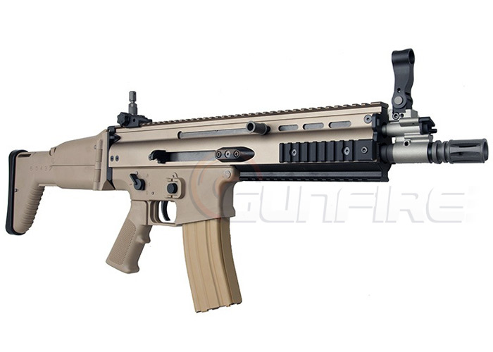 WE NPAS SCAR Gas Blowback Rifle