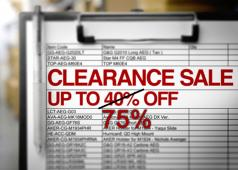 WGC Shop 2011 Clearance Sale 75% Off