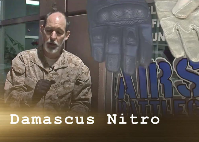 Dr. Airsoft Damascus Nitro Gloves