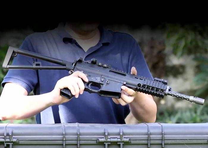 Evolution 8: WE AWSS KAC PDW Gas Blowback Rifle