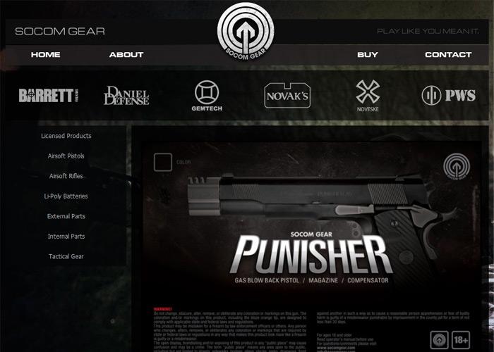 SOCOM Gear New Website 2010
