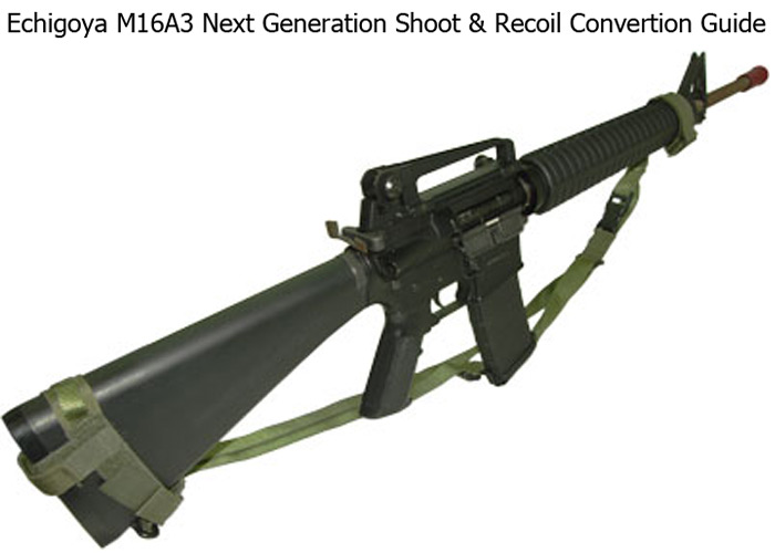 DIY-Guide on how to convert your M4A1 CQB-R to M16A3