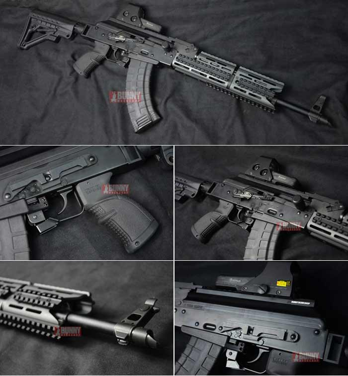 Bunny Custom Tactical AKM GBB Rifle Popular Airsoft