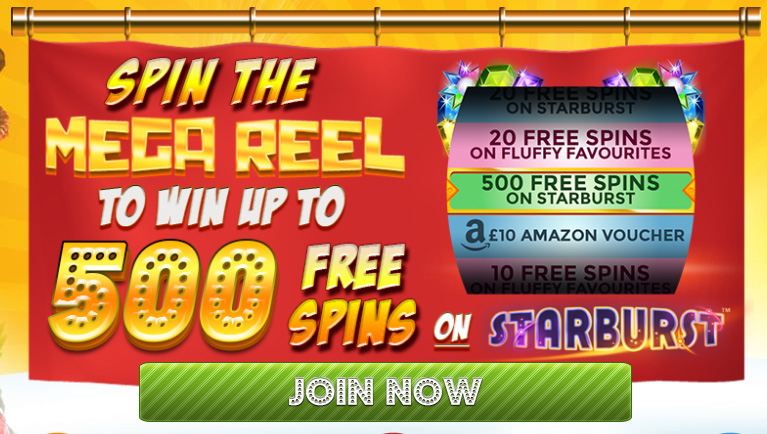 Win up to 500 Free Spins When You Join Delicious Slots!