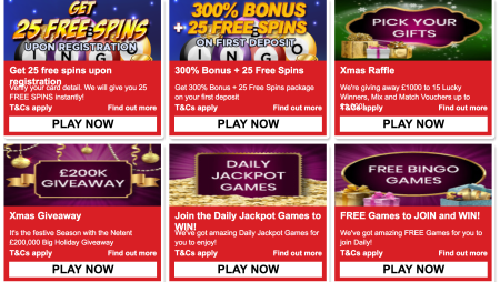 Sizzling Hot Promotions at New Bingo Site Quid Bingo