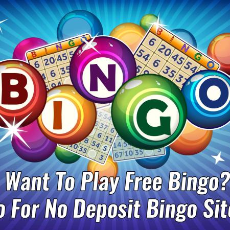 Want To Play Free Bingo? Go For No Deposit Bingo Sites