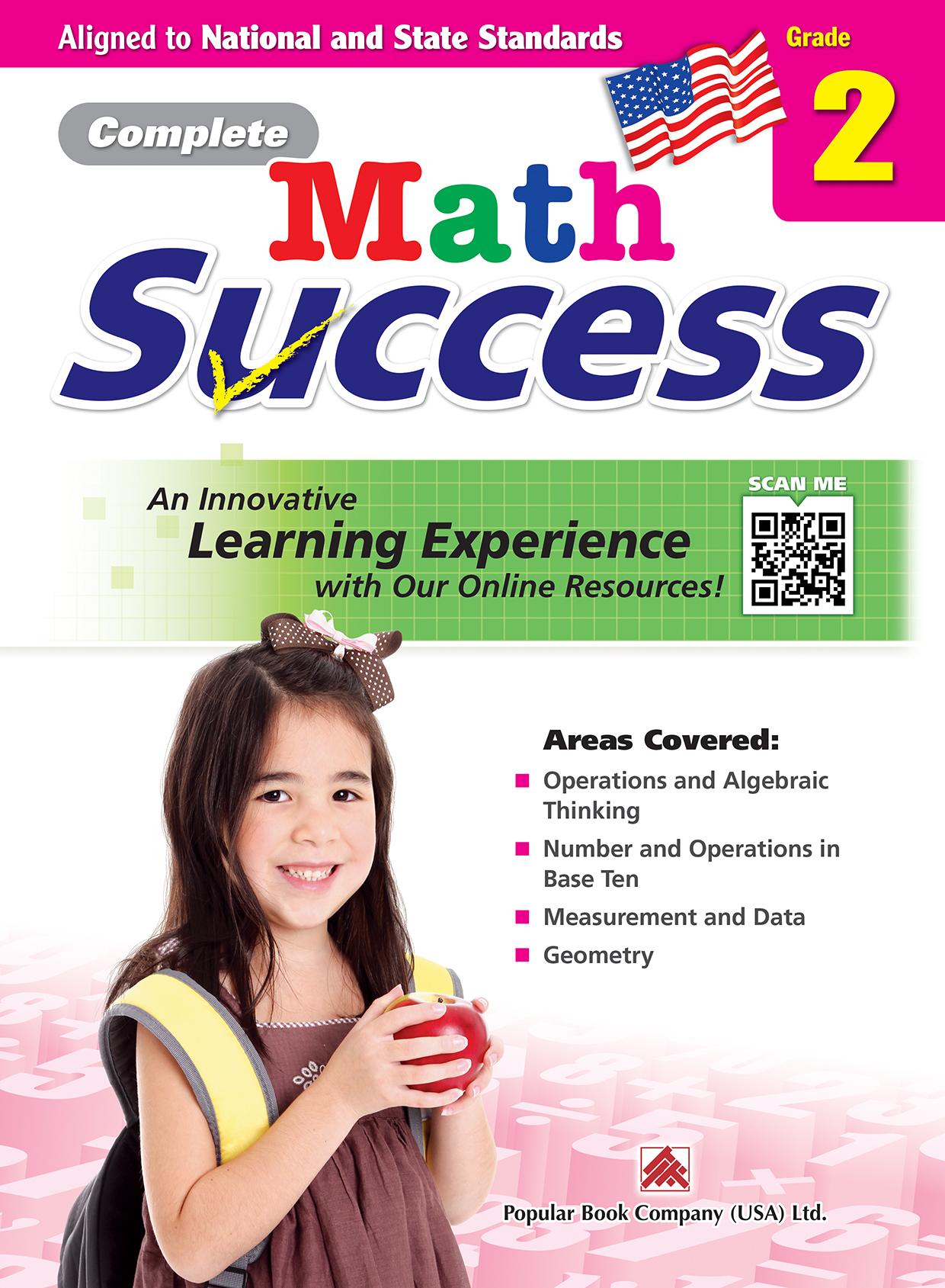 Complete Math Success Grade 2 Popular Book Company Usa