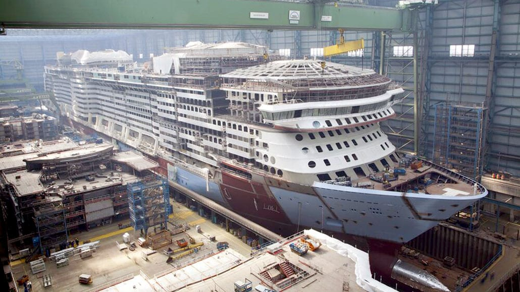 Quantum Of The Seas Construction Update Photo Amp Video