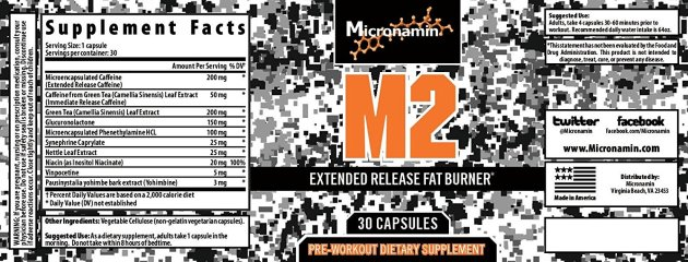 M2 Thermogenic label