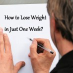 Effective One Week Diet to Lose Weight
