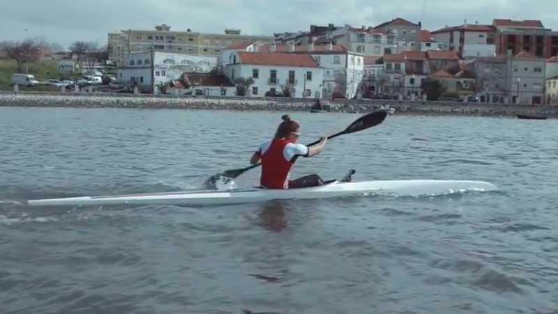 SCML – Projeto Bolsas de Educação Jogos Santa Casa | Teresa Portela, Canoagem