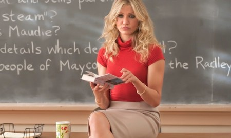 """L-r, Cameron Diaz stars in Columbia Pictures' comedy """"Bad Teacher."""""""