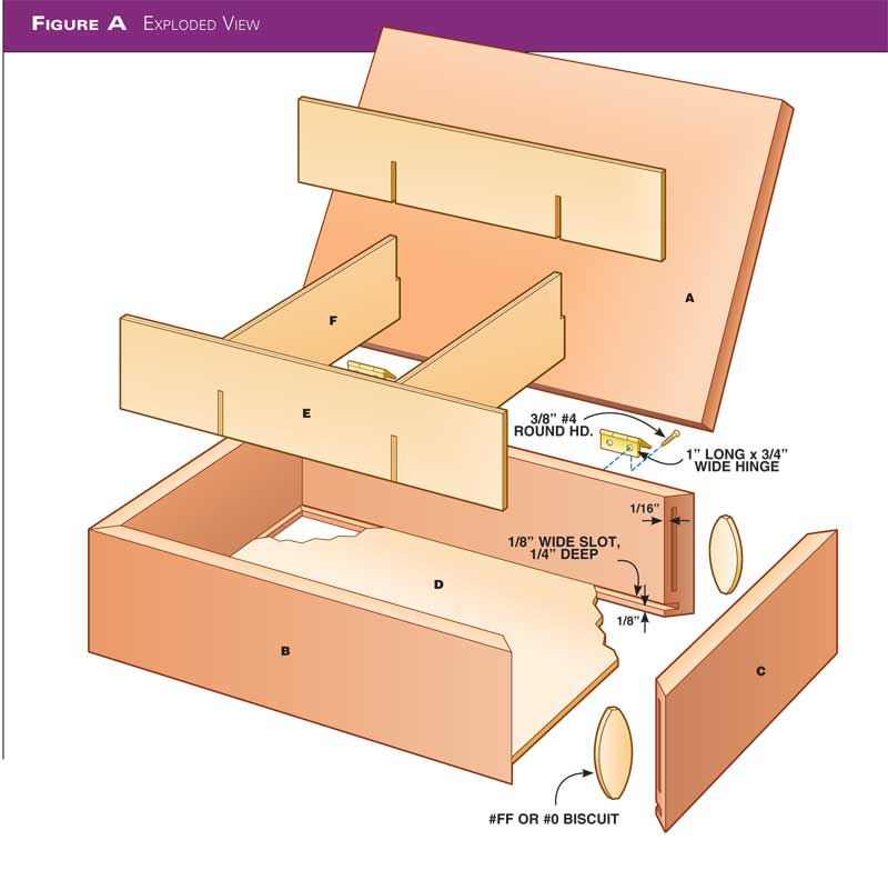 Wood Magazine Jewelry Box Plans