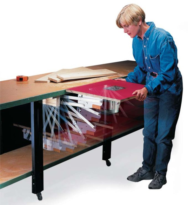 Pull-Out Router Table - Popular Woodworking Magazine