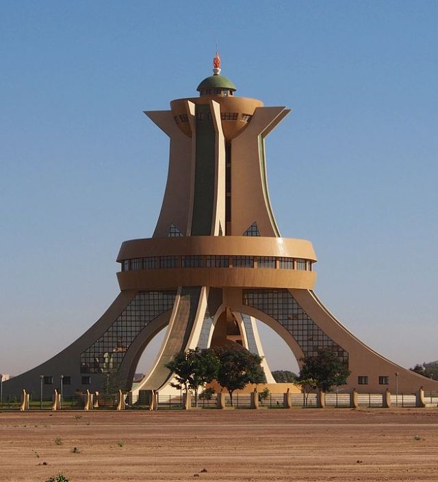 Monument des martyrs, Ouagadougou