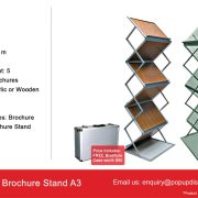 Brochure Stand A3