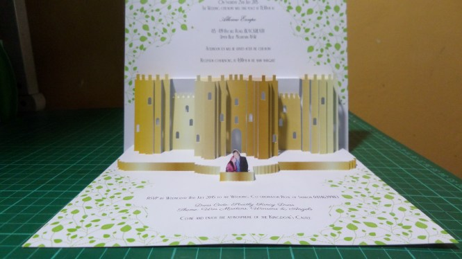 Wedding Pop Up Invitations Occasions