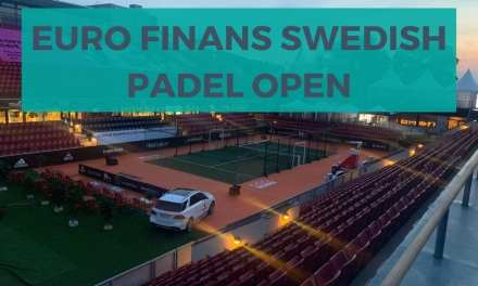 Arranca el Euro Finans Swedish Padel Open