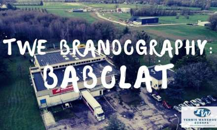 Brandography Tennis Warehouse Europe: Babolat