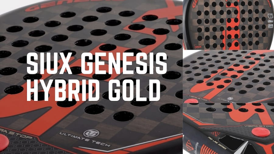 Review Por4Padel:Siux Genesis Hybrid Gold Carbon