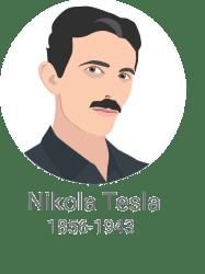 Nikola Tesla / Porabimanj INFO / Ilustracija: Branko Baćović